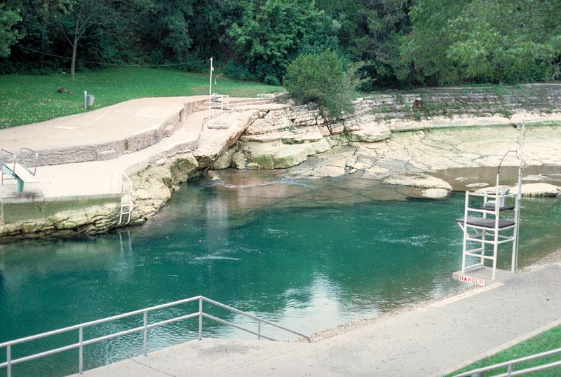 Barton springs City of san antonio swimming pools